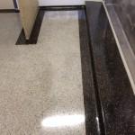 Terrazzo after rejuvenation & sealer application