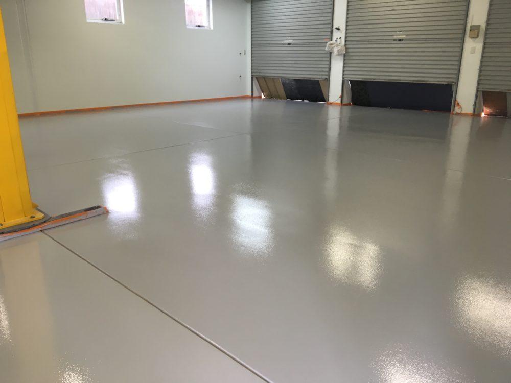 Single Colour Workshop Floor