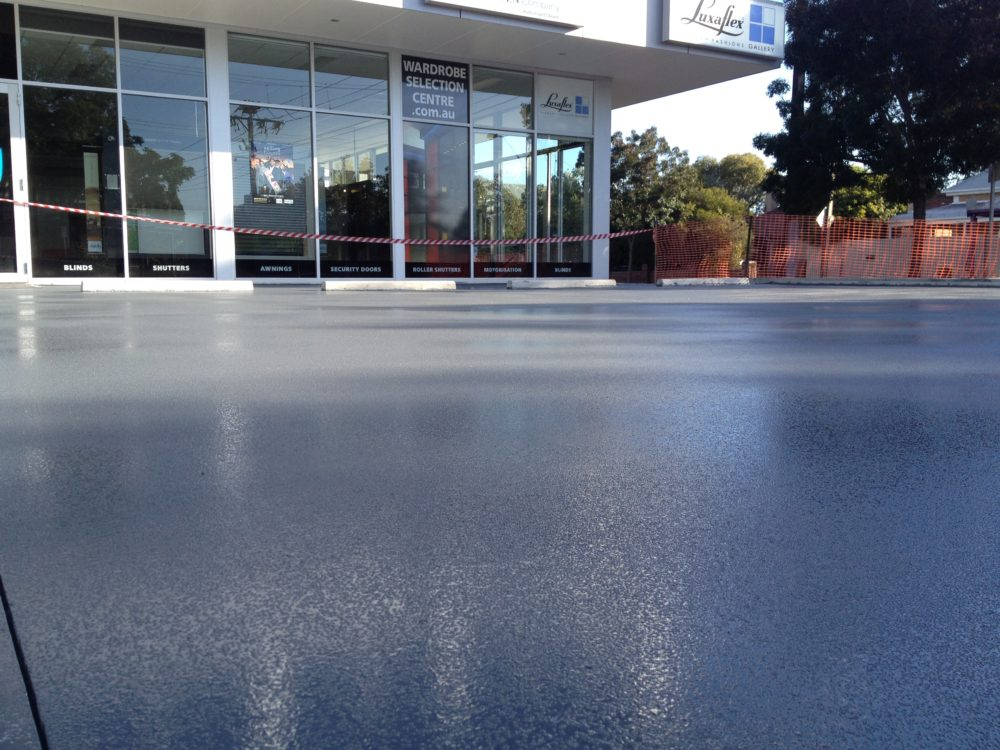 non-slip external car park coating