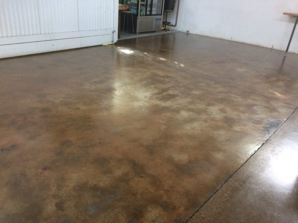 Naked Concrete Floor with Non-Slip Aggregate