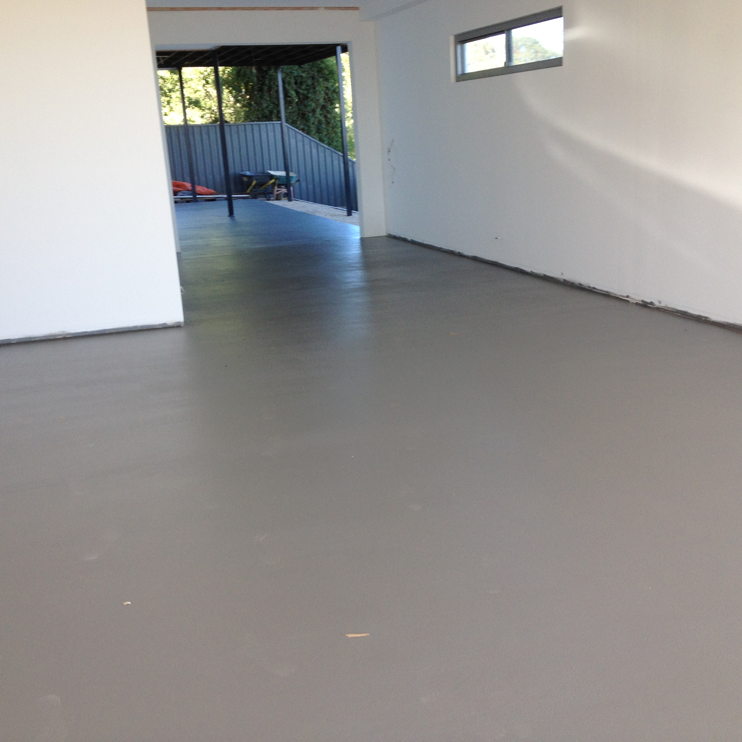 Single Colour Living Space Coating