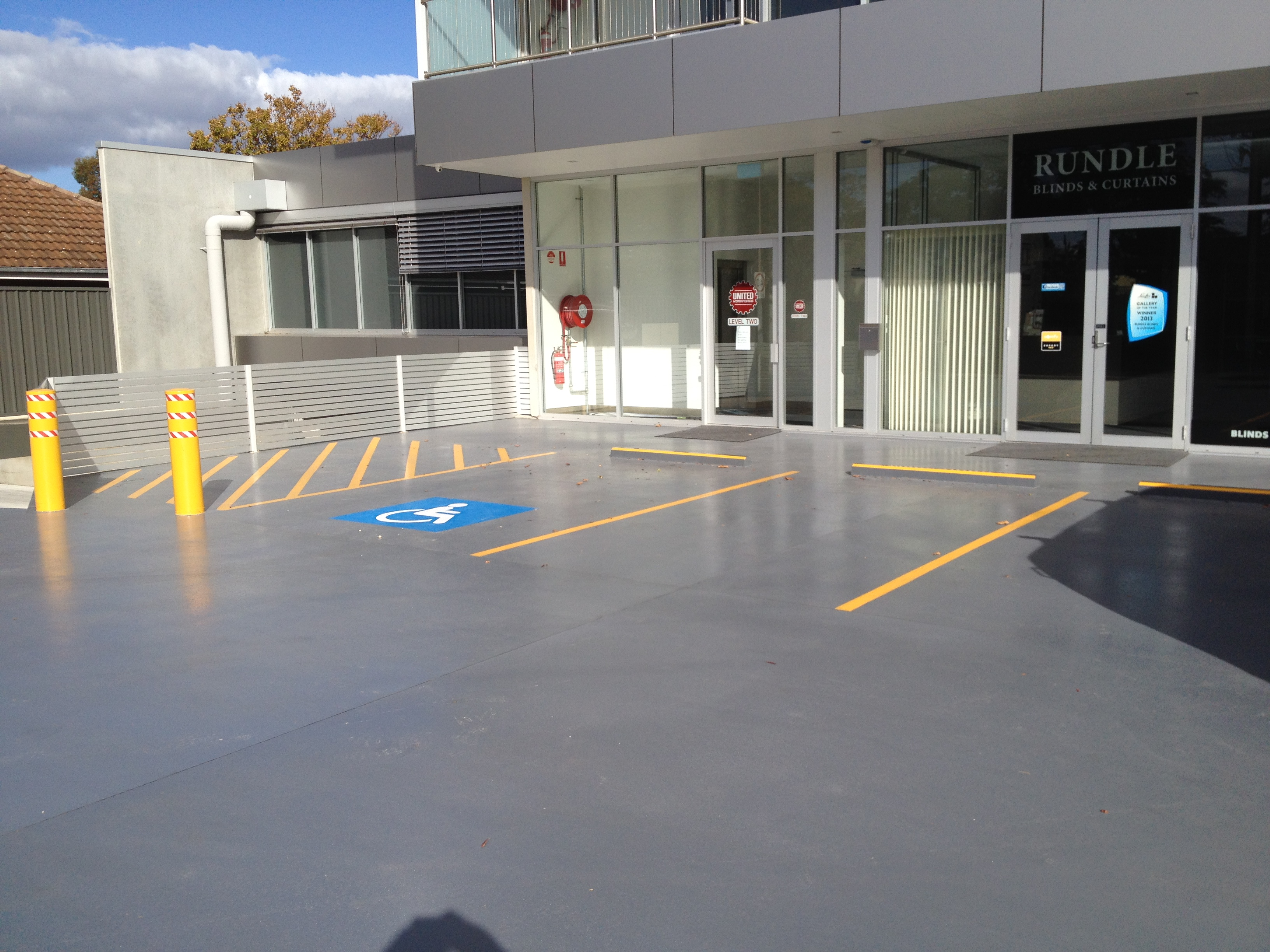 Resurfacing of Commercial Carpark