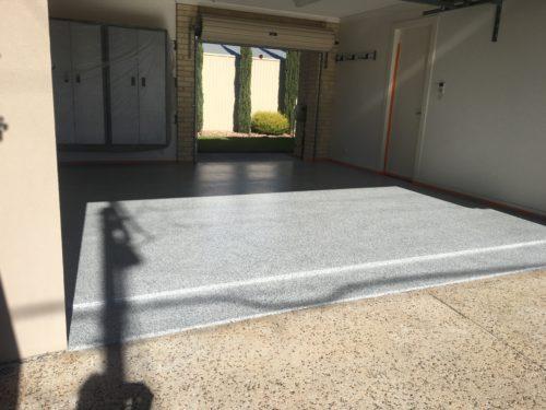 Garage Flake Floor Coating