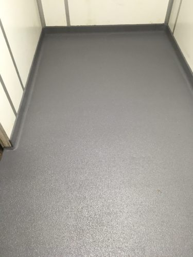 Cool Room Floor with Precast Coving
