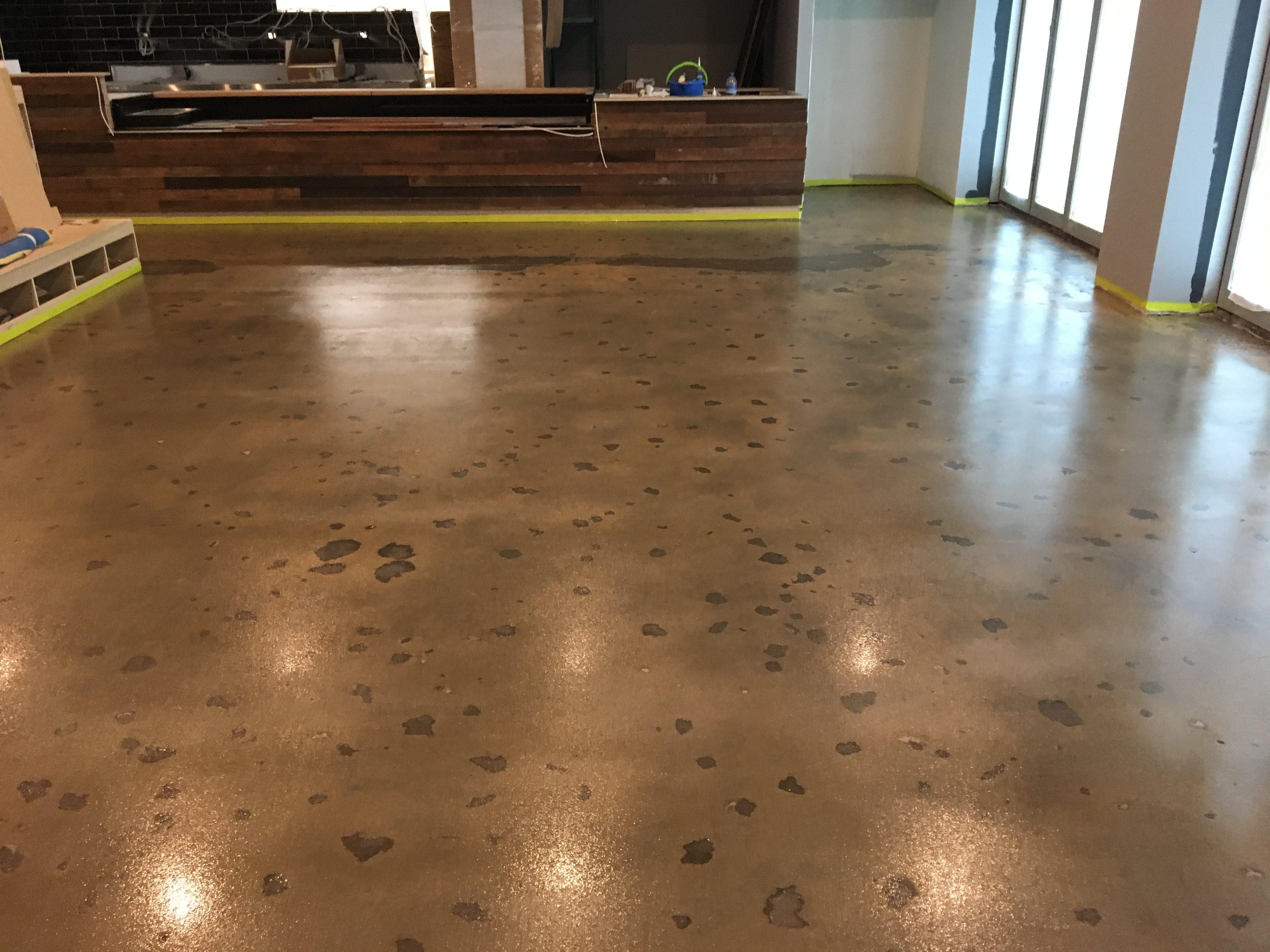 Slip Resistant Naked Floor